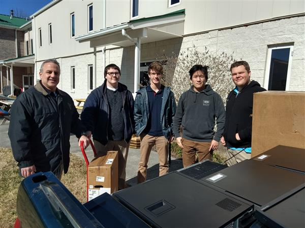 From WSLS.com: Students from the Burton Center for Arts and Technology installed about 20 refurbish