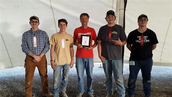Masonry Students Earn 2nd and 4th Place in State