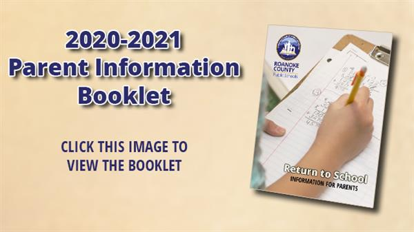 2020-21 parent information booklet - click this to view the booklet