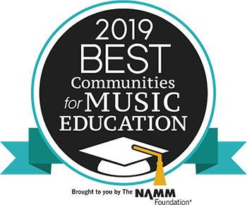2019 Best Comunities for Music Education
